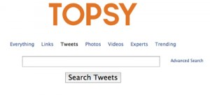 How To Use Twitter Search To Find Real Customers With Topsy