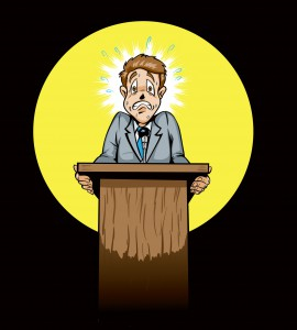 Did you know public speaking is the number one fear for people around the world?