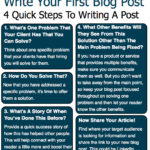 4 Tips To Write Your First Blog Post.001 150x150 Get Started With Business Blogging: Communicating With Your Customers