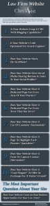 Law Firm Website Checklist Infographic
