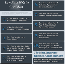 Law Firm Website Checklist Infographic Thumbnail