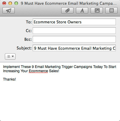 Specifically Exactly what Is It? ecommerceemailmarketingcampaigns