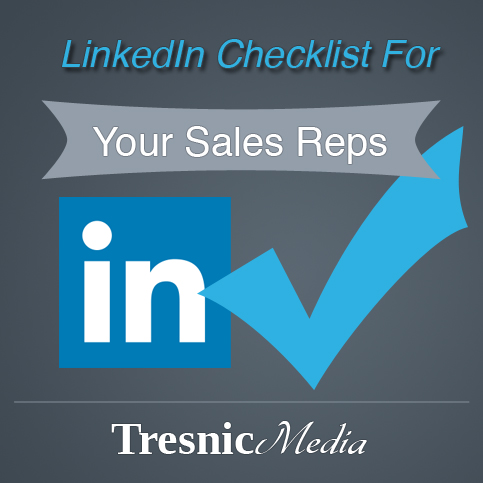 Daily Checklist: LinkedIn For Sales Reps