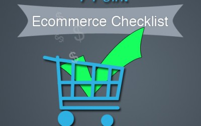 7 Point Ecommerce Checklist
