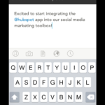 How To Publish To Social Media Using The Hubspot Mobile App