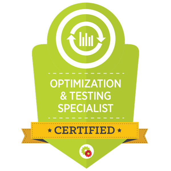 Optimization & Testing Mastery Badge